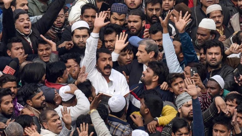 Is Jama Masjid in Pakistan, what's wrong in protesting: Delhi court on