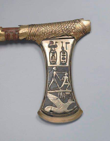 Egyptian Axe about 3600 years old.