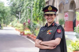 #Know_Your_Heroes  Maj Gen Madhuri Kanitkar, becomes the first woman dean o