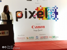 #PhotoClub  Instafeed was one of the sponsors at Pixel '19 at Hotel Ramada
