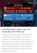 India defeat West Indies in their first match after 2019 World Cup