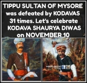 Some delayed  update but then let us celebrate the defeat of Tipu Sultan.