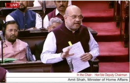 Security Can't Be Status Symbol, Says Amit Shah as RS Passes SPG Amendment