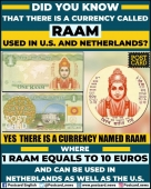And there you find a different currency representing Lord Ram.