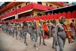 Why the people forget that these Naga Sadhus were among the first to fight Britishers.