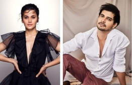 IT'S OFFICIAL... #TaapseePannu and #TahirRajBhasin... Sony Pictures Films India and Ellipsis Entertainment ann