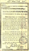 Warrant of Execution of Shaheed Bhagat Singh