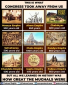 And they say that the only Muslims built India . Such a big joke. Just compare herein
