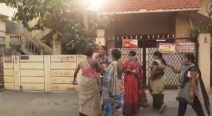 BPL card beneficiaries struggle in front of public distribution system (PDS) shops from early hours