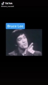 Bruce Lee speech . be like a water