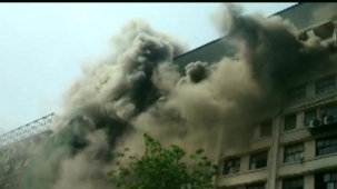 BREAKING NEWS: Fire Breaks Out At Government Building In Mumbai