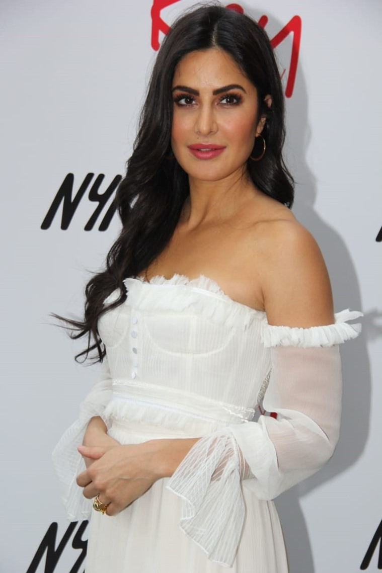 Katrina Kaif shows how to ace nude makeup for a white outfit