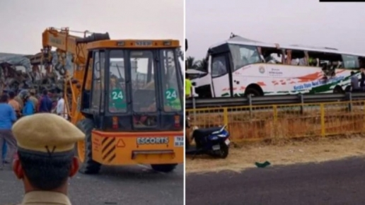 19 dead in Tamil Nadu road accident as Kerala-bound bus rams into truc