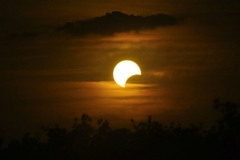 Glimpses of Solar eclipse 2020 from Haryana, Delhi and jaipur