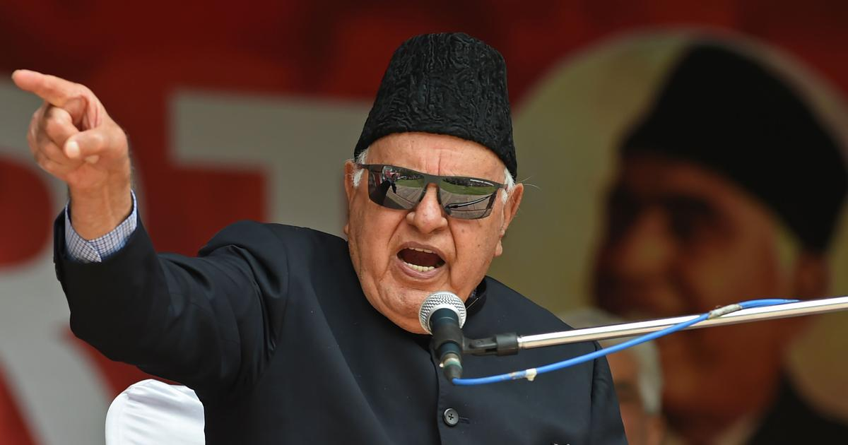 Farooq Abdullah To Be Released After Over 7 Months In Detention