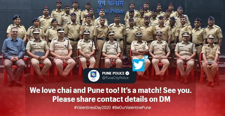 Pune Police invites people for chai-date on Valentine's Day