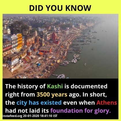The oldest Living City of India - Varanassi