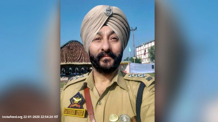Kin of militant arrested in DSP Davinder Singh case detained  All the four