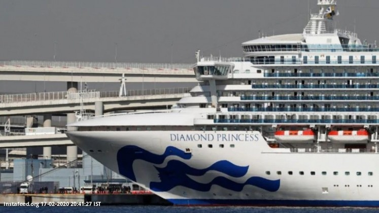 2 more Indians onboard quarantined cruise ship test positive for coronavirus  The embassy said that