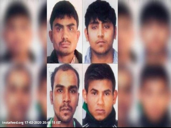 <b>Nirbhaya gangrape and murder case: Convicts to be hanged on March 3<b\>  All four convicts of the