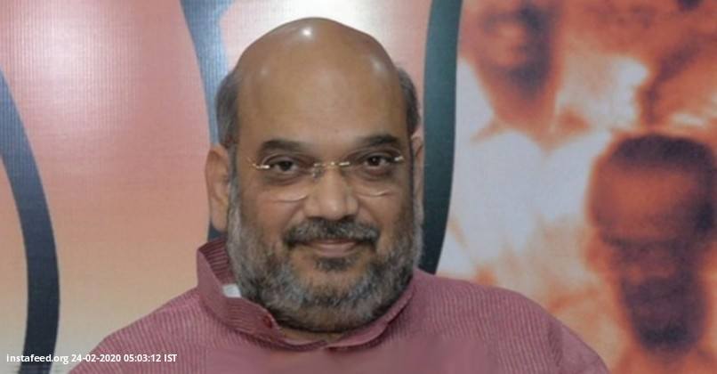 'Namaste Trump': HM Amit Shah reviews preparations  Ahmedabad: Union Home Minister Amit Shah on