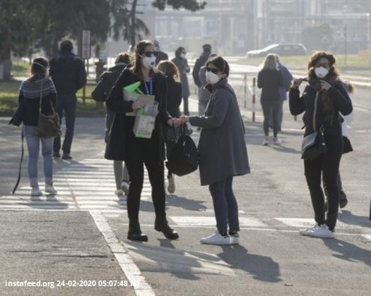 Coronavirus: Italy towns in lockdown, South Korea declares highest alert  The Italian government has