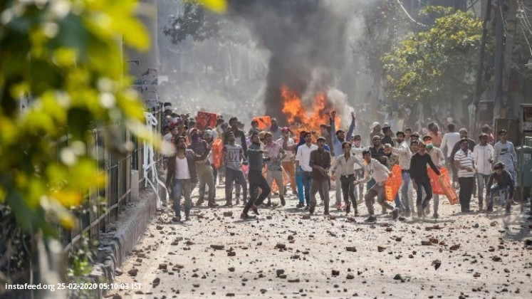 Delhi violence: Capital remains on edge as 5 die in fresh clashes during Trump visit  Protests relat