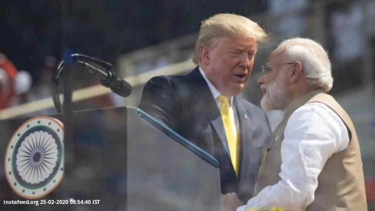 Donald Trump India Visit LIVE Updates: India-US to sign $3 bn defence deal, PM Modi to hold talks wi