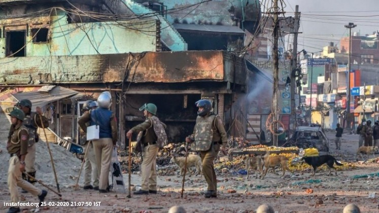 Delhi violence: Shoot-at-sight order issued in North East district  A shoot-at-sightorder has been