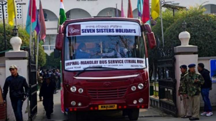 The Historic Bus Service Between India and Myanmar Will Be Flagged off on April 7, 2020