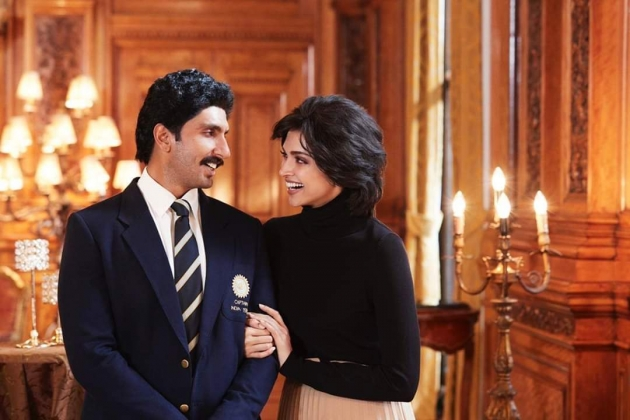 Here it is... #DeepikaPadukone as #RomiDev in #83TheFilm... Stars #RanveerSingh as #KapilDev... Dire