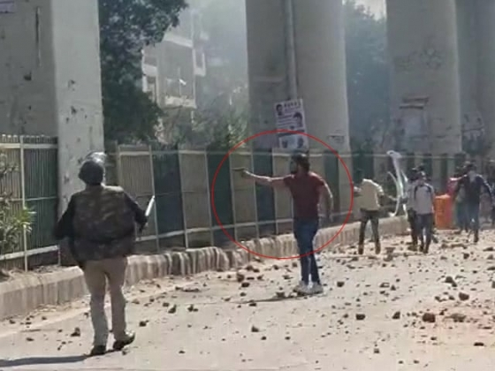 Delhi Man Opens Fire As Cops Watch In Clashes Over CAA