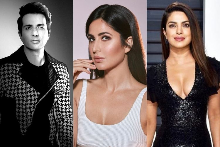 Sonu Sood, Katrina Kaif, Priyank Chopra Jonas: Meet the messiah's of lockdown