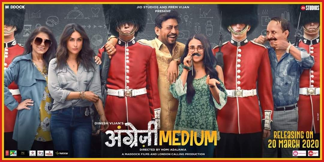#HindiMedium is a much-loved film and the expectations from #AngreziMe