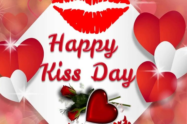 Happy International Kiss Day 2020 Wish your love in this love filled style, send this SMS