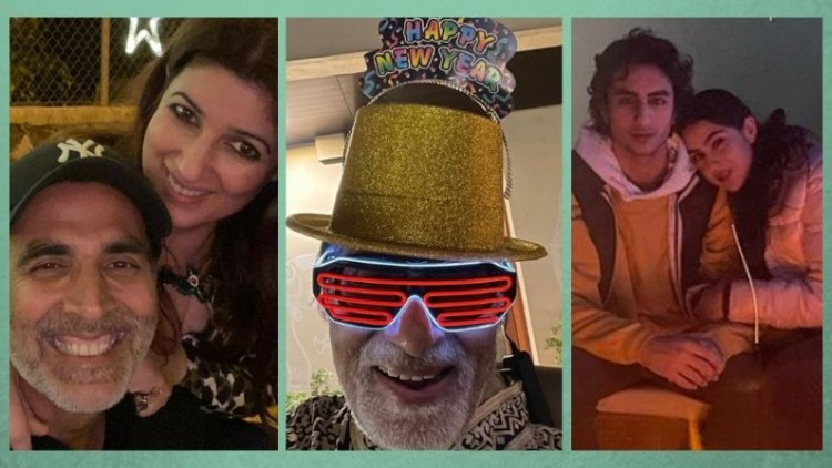 Happy New Year 2021: From  Big B to Sara Ali Khan B-Town celebs welcomed the New Year with great fun