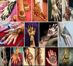 A mask isn't the only mandatory accessory this karwachauth, a trendy mehendi design is also one