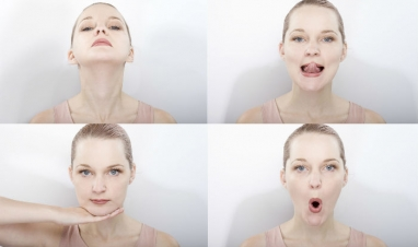 5 easy face exercises that will definitely make you loose Facial Fat