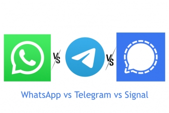 Whatsapp Vs Telegram Vs Signal : Know which messaging service app is the best