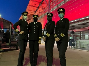 Air India all women captains crew created history, saving 10 tons of fuels: Know about their story