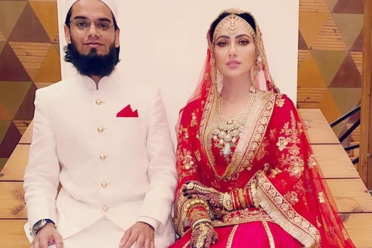 Here's all you need to know about Sana Khan's husband Mufti Anas