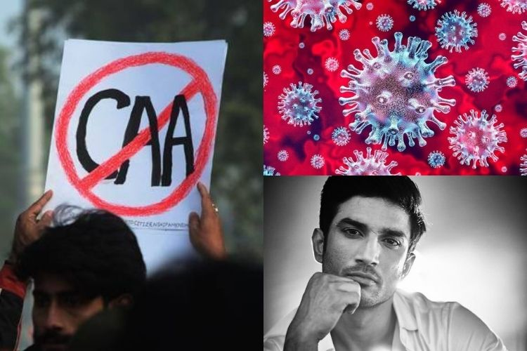 CAA, Covid-19, SSR death: Everything that made 2020 a dark year for mankind