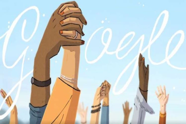Google Celebrates women's day with cool doodles. people all over the world appreciate
