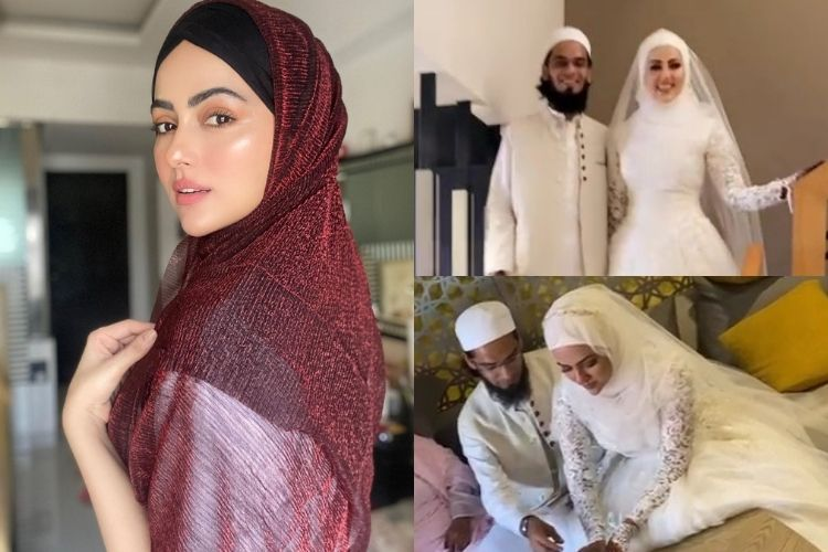 EXCLUSIVE: Actress Sana Khan gets married to Mufti Anas in Surat, details inside