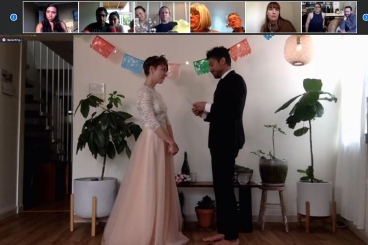 With virtual weddings being the new reality, here's everything you need to know about the concept