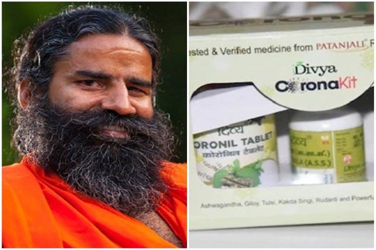 Patanjali launches new drug for Corona,
