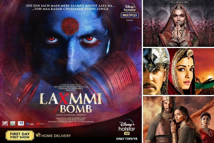 Akshay Kumar's Laxmmi Bomb faces controversy, check out 10 other films that have also faced troubles