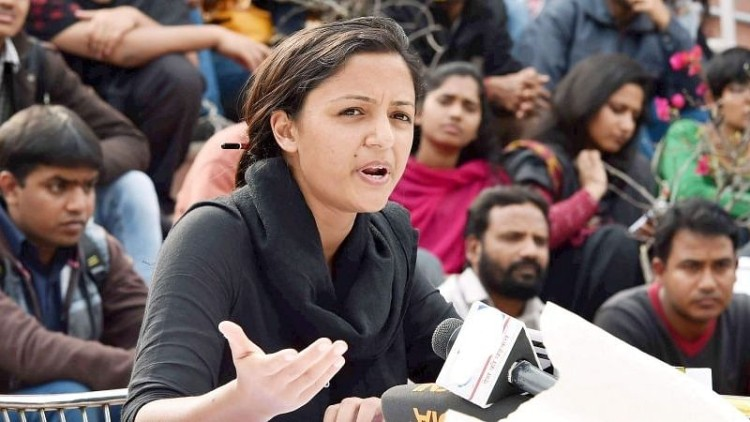 Shehla Rashid: Know about her scandalous civil rallying and recent controversy